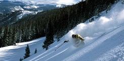 Skier in Breckenridge Colorado