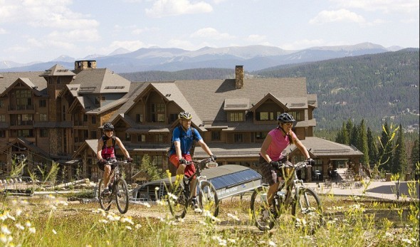 biking in Breckenridge