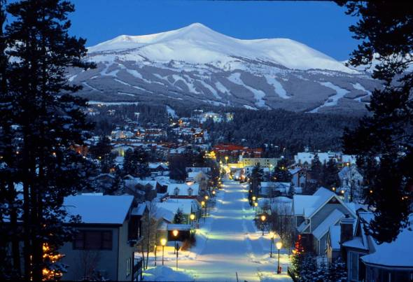 Breckenridge Colorado ski area