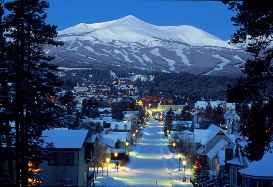 Breckenridge Colorado ski area