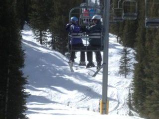 Skiing in Breckenridge
