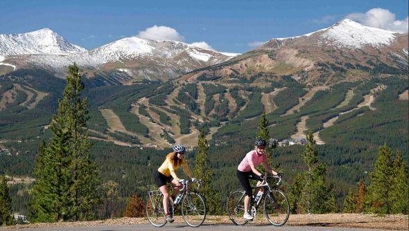 Breck biking